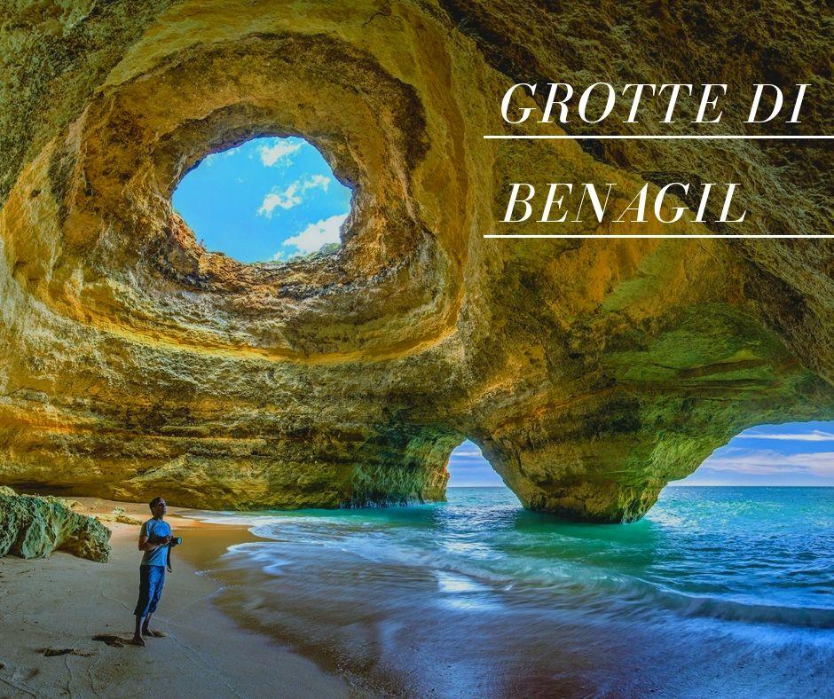 Grotte di Benagil in Algarve 1