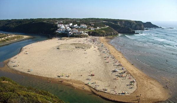 Praia de Odeceixe Algarve