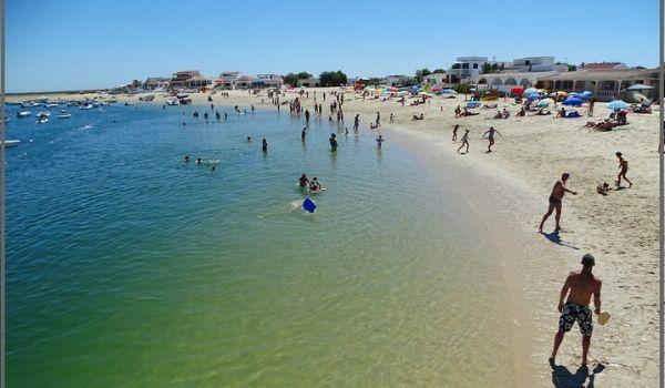 praia da ilha de armona algarve