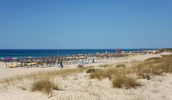praia da manta rota algarve