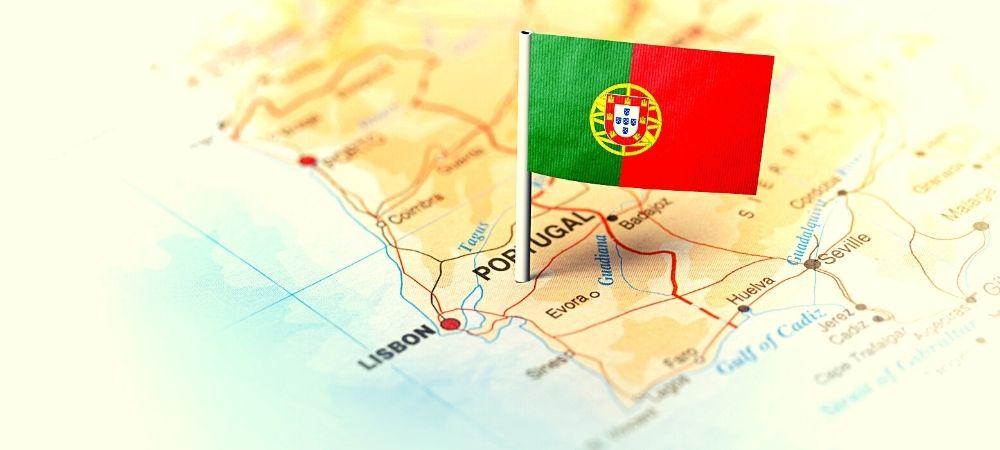 mappa portogallo dove lavorare