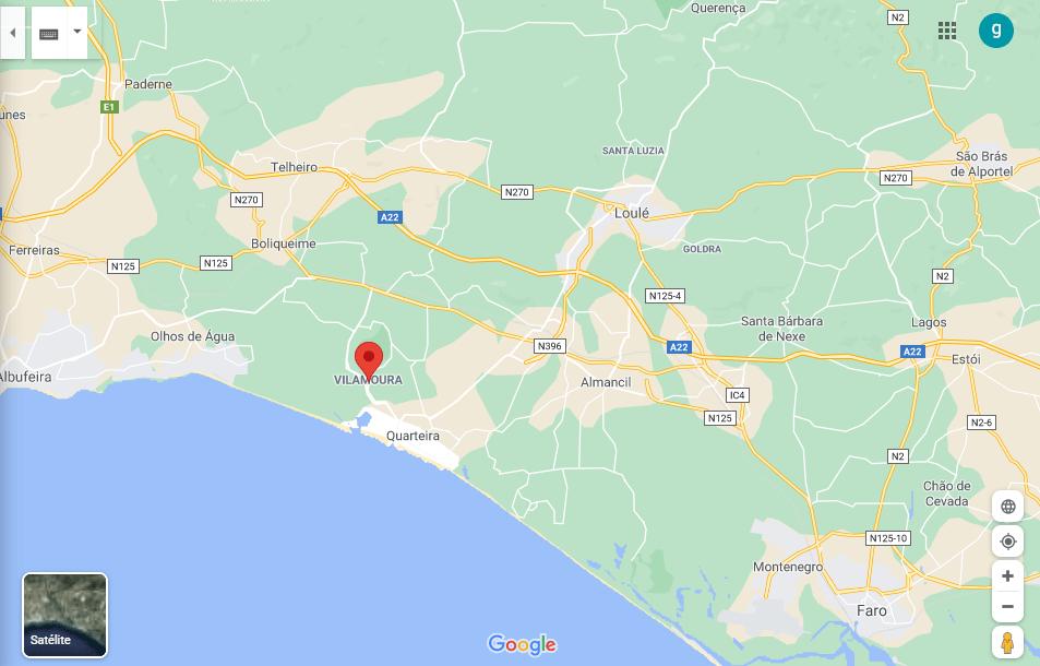 Vilamoura Mappa-min