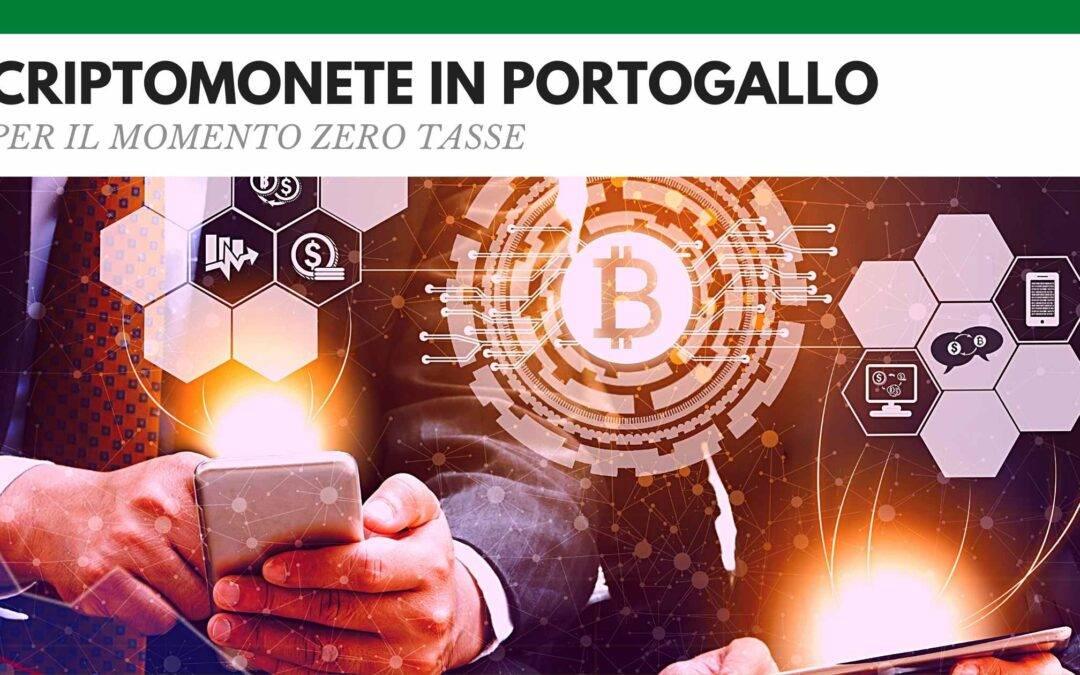 Tassazione criptovalute Portogallo